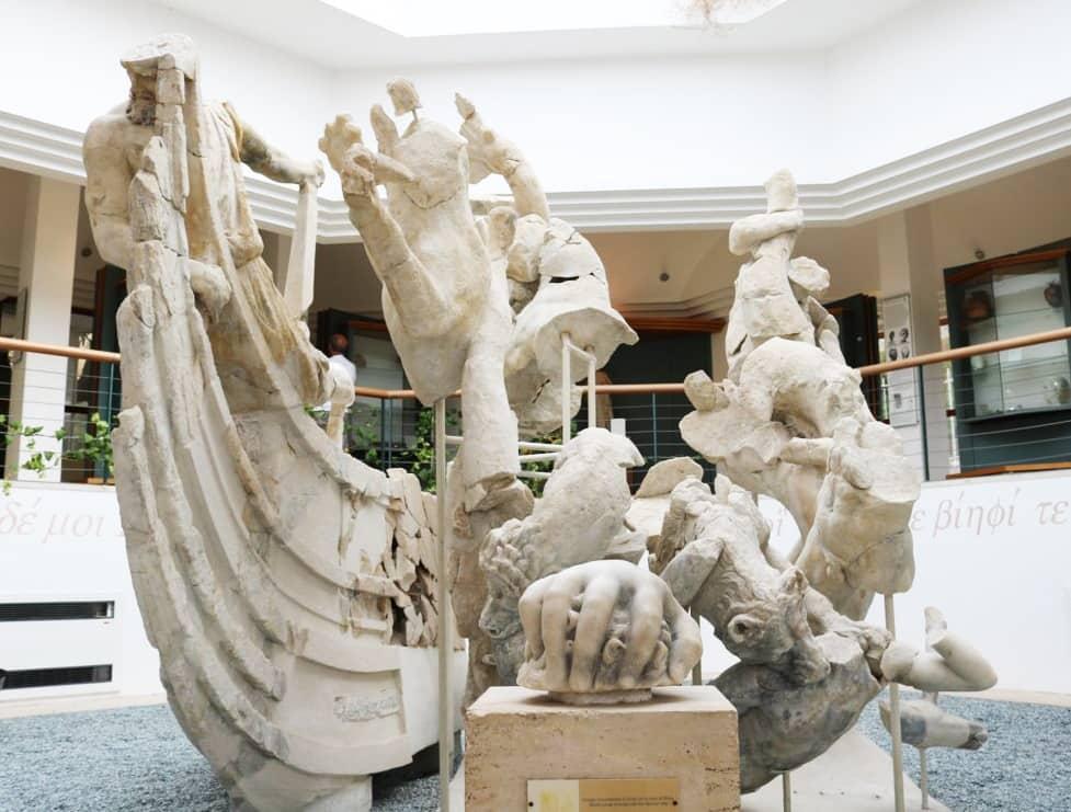 Gruppo Scilla Museo archeologico Sperlonga